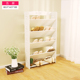 wooden storage shoes changing stool Shoe rack 5 Tier