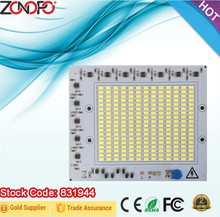 30w 50w 100w 150w driver and LED together 110v 220v input voltage constant current dimmable outdoor square flood light ac pcb