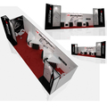 Detian Display offer used trade show booth portable display system