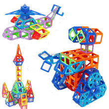 Hot sell children's education assembled magnetic building blocks toys