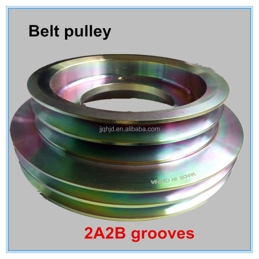 anti-oxidation clutch plate and clutch pulley on bus repair aftermarket 2A2B 260*210mm size pulley magnetic clutch pulley