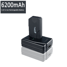 New Product 6200mAh 4.2V Battery Power Bank for Bicycle Front Light Lithium ion Rechargeable Battery