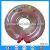 Confortable with high quality baby swim neck ring, inflatable infant swim neck float ring for swimming