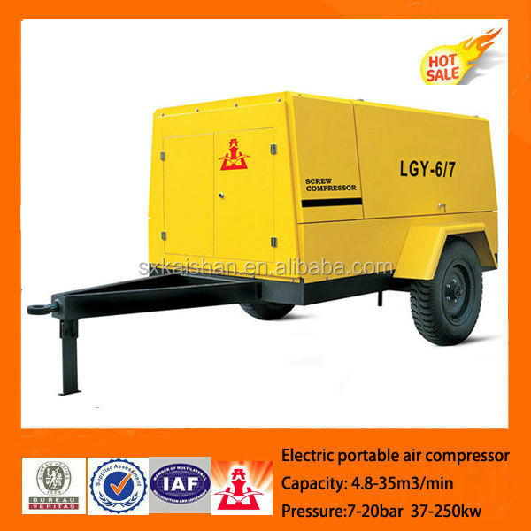 electrical portable screw air compressor,atlas copco screw air compressor