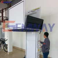 Vertical 250kg platform lift for handicapped with wheelchair