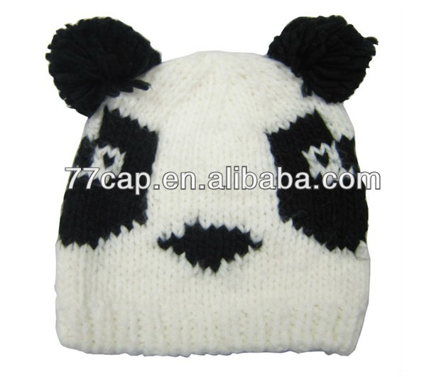 Kids Knitted Animal Winter Hats Beanies with Ears Manufactor