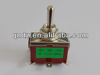machinery on-off-on toggle switch on-off-on