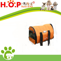 New Orange Portable Folding Canvas Pet Dog Cat Travel Carrier Backpack Tote Bag