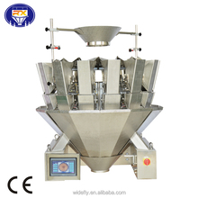 multihead weigher and packing machine for food