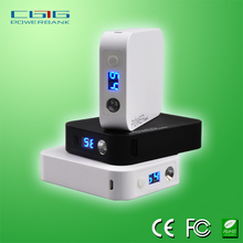 cubic shape original design CE, ROHS, FCC portable power bank charger for sony, samsung and digital camera with 10400mah