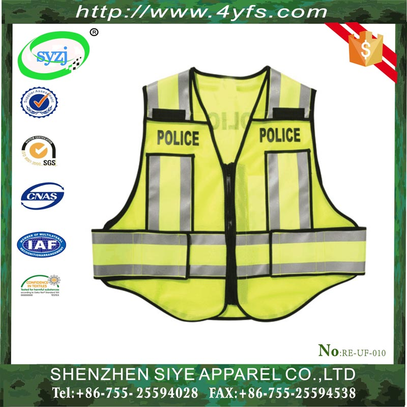 High Visibility Reflective Security Uniform