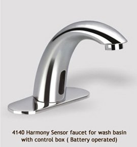 Harmony sensor faucet for wash basin