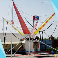 outdoor bungee rebounder for children