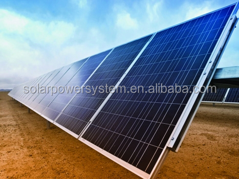 grid tied single axis solar tracker system 1000 w