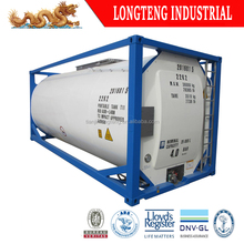 ASME Standard 20ft 40ft ISO Tank Container