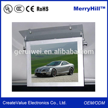 Car Roof Mount TV Advertising 21.5 inch 19 inch 18.5 inch 17 inch 15 inch LED Monitor 12V