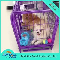 small dog kennel for indoor dog cage