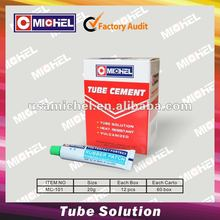 Tube Glue, Tube Solution