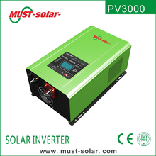 DC to AC solar inverter 1000w 2000w 3000w 4000w 5000w 6000w with MPPT solar charger inverter for off grid home solar systems