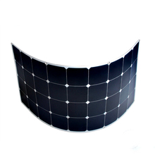 Mono 250W Semi Flexible solar panel soft solar panel for car boat, ship yacht