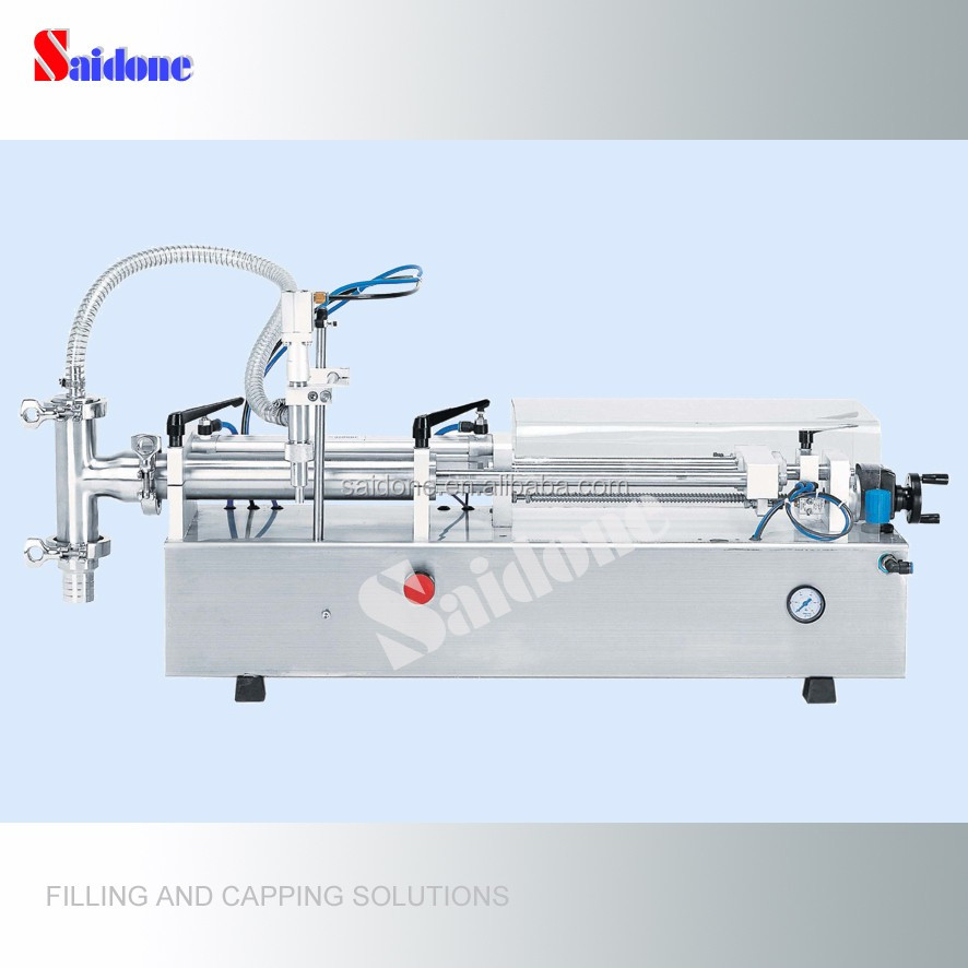 Semi-automatic hair conditioner filling and packing machinery hair conditioner filler