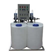 2 Tanks & 2 Pumps chemical Dosing Device