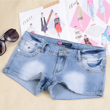 Jeans shorts women 2016 denim girls sexy jeans shorts ladies jeans shorts