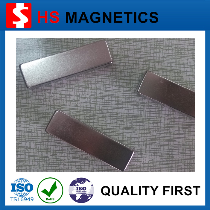 Block neodymium magnet for toy car and smart balance car