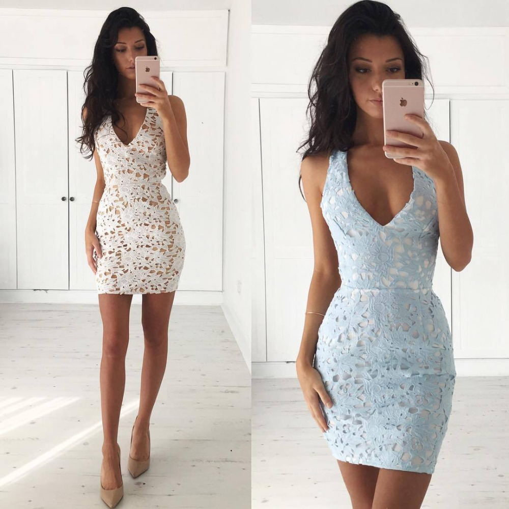 DD065 European and American fashion women's waist A - shaped lace harness dress