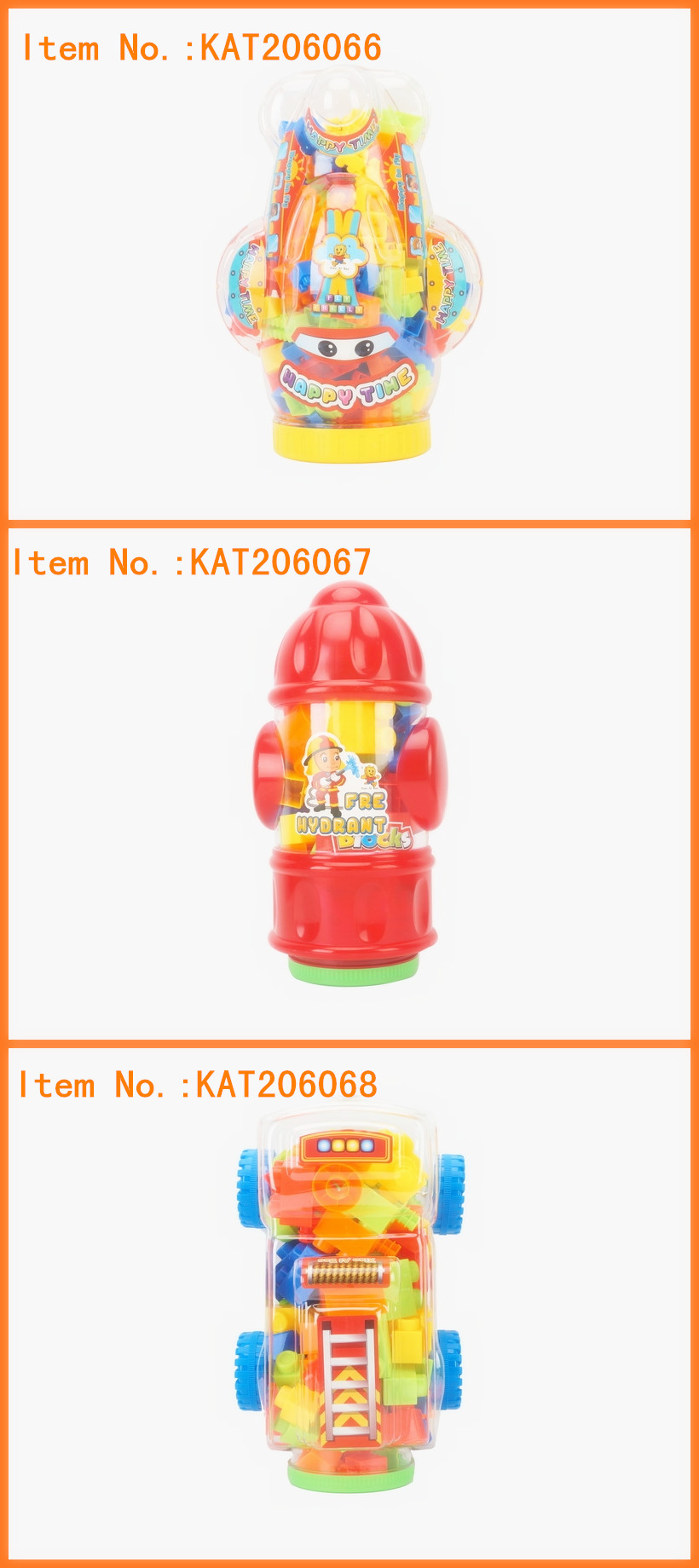 2019 New Educational Toy Magnetic Plastic Building Blocks Toys For Kids