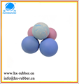 high quality solid silicone rubber stress bouncing ball with your logo