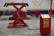 Direct Factory High Quality CE ISO Hydraulic Auto Lift Mid Scissor Fog Car Lift