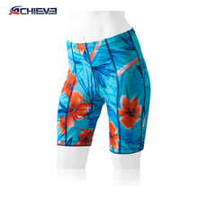 customize design lycra cycling bib shorts with pad