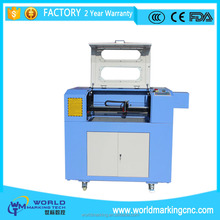 Wholesale small 6040 co2 laser cutter with 60w laser tube