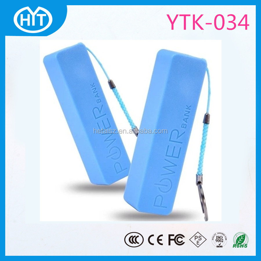 2016 Portable perfume design remax power bank 2600mAh for Gift/Promotion