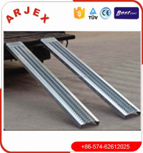 Truck trailer laden ramp aluminium