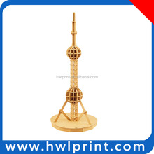 DIY Building model 3D paper puzzle The Oriental Pearl Radio & TV Tower 3D Puzzle