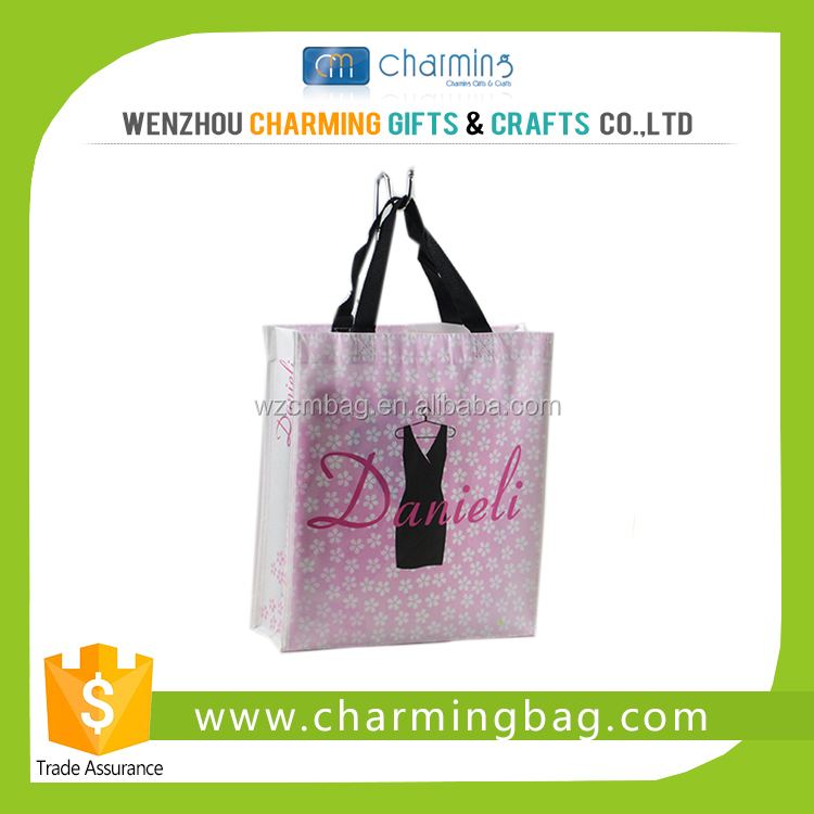 Small PP Non Woven Cloth Shopping Bag with Unique Printing