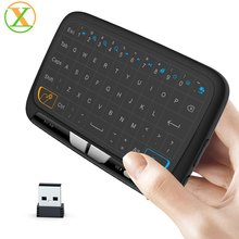Mini H18 Bluetooth keybaord for Smart TV USB Touch Hi8 mini wireless keyboard for tv box