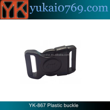 Yukai outdoor camping paracord buckle with lock/side release plastic buckle