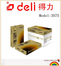 Deli Standard King Two Side Copy Paper A3-70g-4 package , model 3575