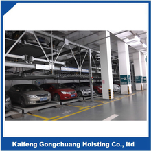 Three-layer Automated Puzzle Mechanical Car Parking System