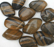 high light tiger stripe river rock pebble 3-5cm