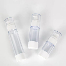 Cosmetic packaging 15ml 30ml 50ml 80ml 100ml 120ml acrylic plastic bottle with lotion pump airless pump bottle