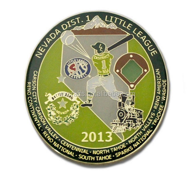 challenge coin , commemorative coin, wholesale soft enamel metal coin
