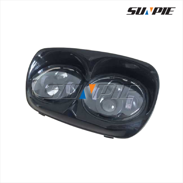 H.arley Motorcycle Projector Dual LED Headlight for Road Glide Head Driving Lamp