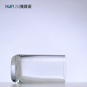 Handmade custom OEM wholesale custom drinking cup glass airline cup