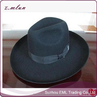 Custom high quality wool jewish hat