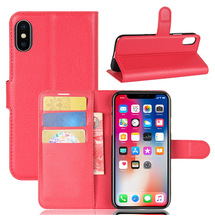 Phone Case Manufacturing Mobile Flip Back Cover Wallet Leather Cellphone Case For Iphone X 10