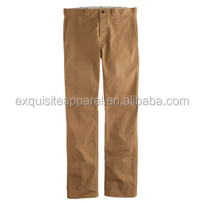 Mens 100% cotton work casual dress pants for wholesale